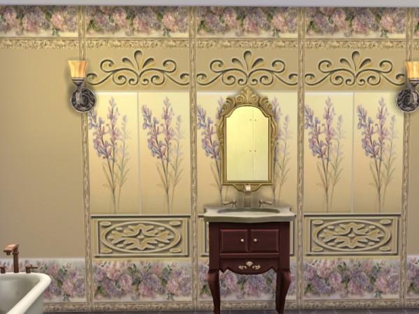 The Sims Resource: Wallpaper gold by Danuta720