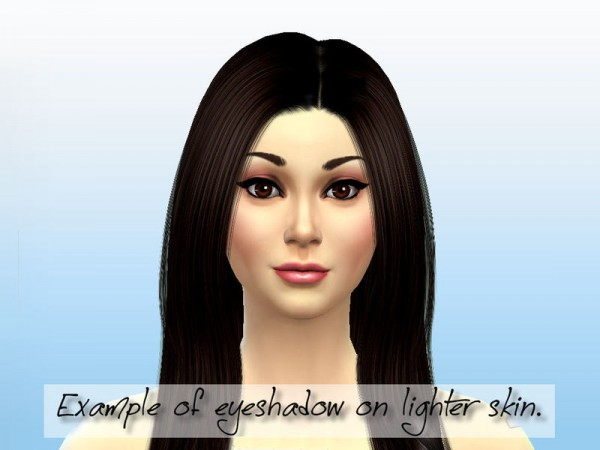 The Sims Resource: Luscious Creme Eyeshadow Collection by Fortunecookie1