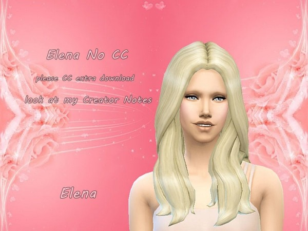 The Sims Resource: Elena Wagner by yvonnee