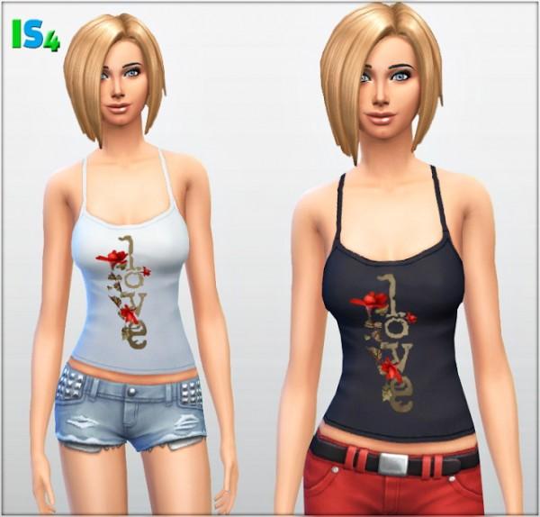 Irida Sims 4: Top 2 I