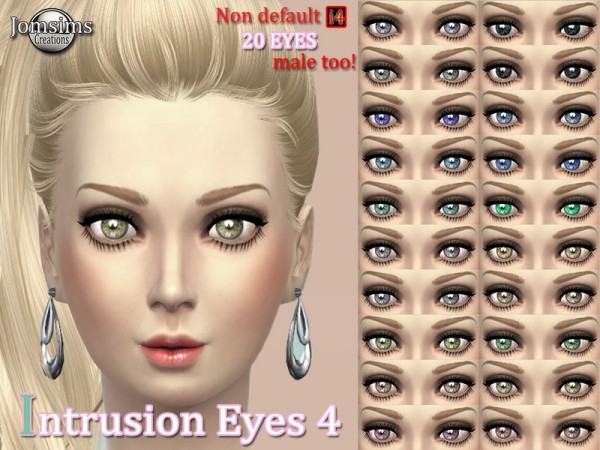 The Sims Resource: Intrusion eyes set 4 by JOmsims