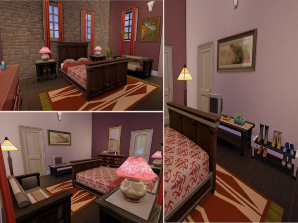 The Sims Resource: Audrey Residential house by Alan is