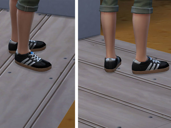 finest selection d3624 e25be ... The Sims Resource  Adidas Samba by Dendysarus . ...