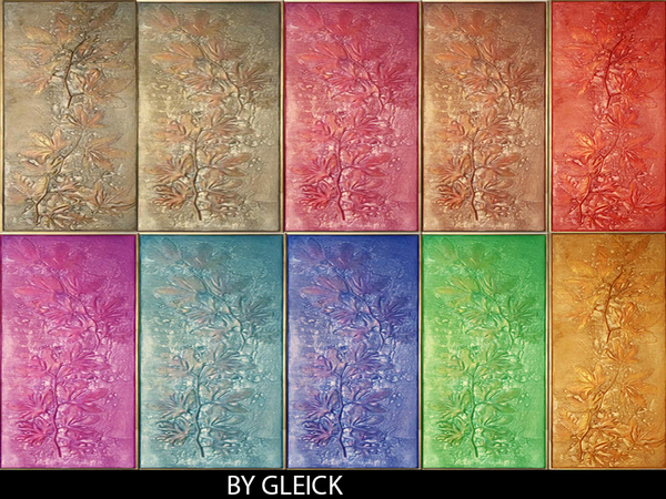 The Sims Resource: Flower panel by gleick