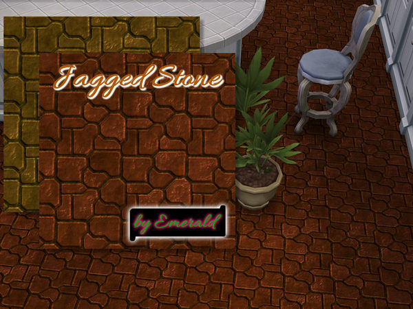 The Sims Resource: Jagged Stone by emerald