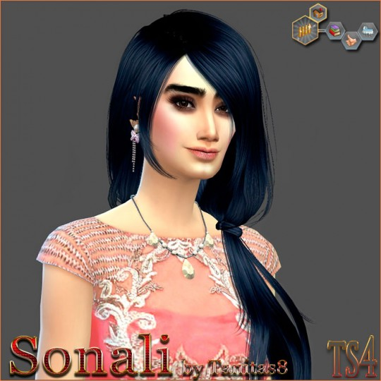 Sims Creativ: Sonali by Tanitas8