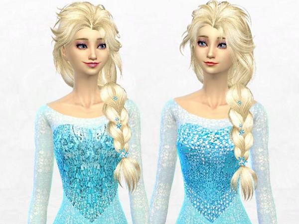 The Sims Resource: Elsa Dress by SakuraPhan