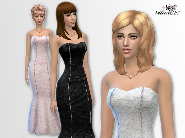 The Sims Resource: Party Dress by Altea127