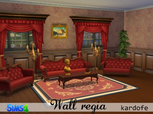 The Sims Resource: Wall regia by Kardofe