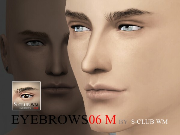 The Sims Resource: Eyebrows 06 by S Club