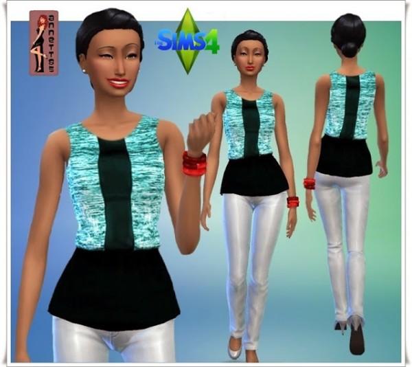 Annett`s Sims 4 Welt: Shirt Nici