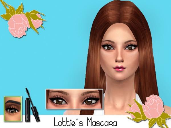 The Sims Resource: Lotties Masara Eyelashes by SenpaiSimmer