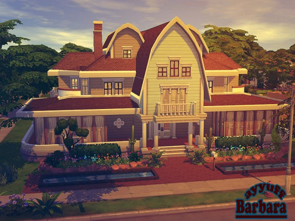 The Sims Resource: Barbara residential house by Ayyuff