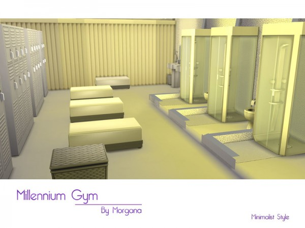 The Sims Resource: Millennium Gym by Morgana14