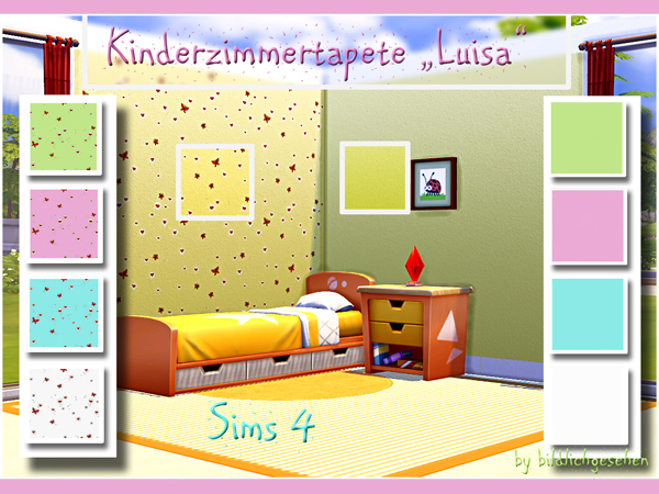 Akisima Sims Blog: Kids walls