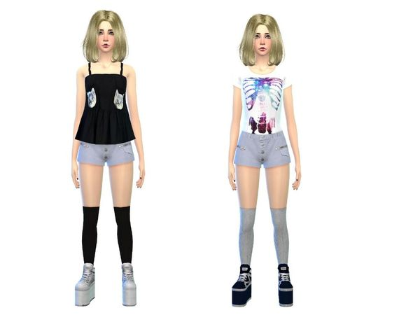 The Sims Resource Fashion Set Female By Simsoerchen