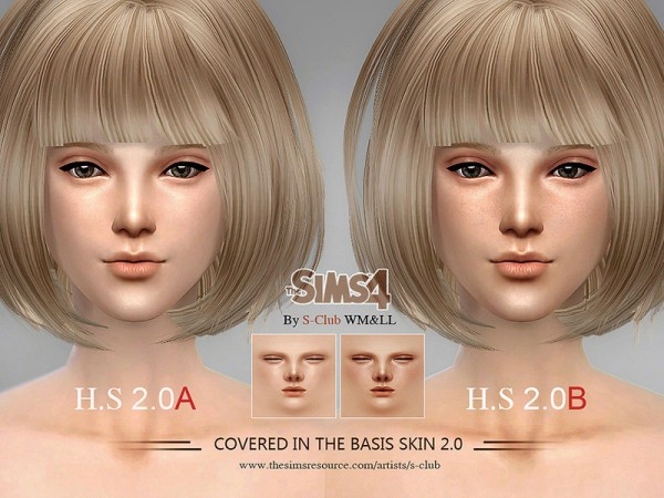 The Sims Resource: H.S ND skintones 2.0 by S Club ...