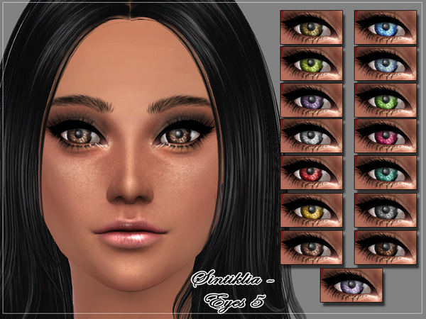 The Sims Resource: Eyes 5 by Sintiklia