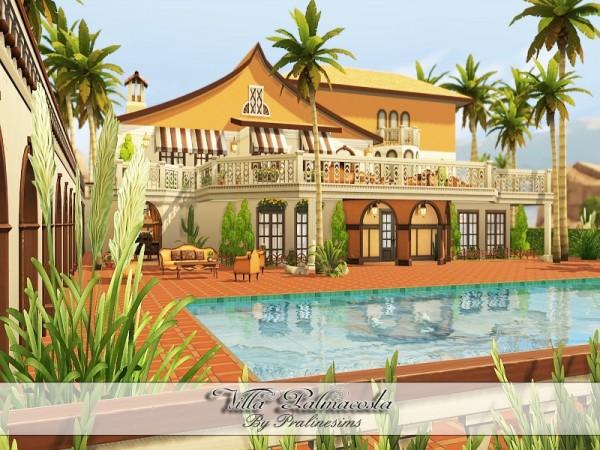 The Sims Resource: Villa Palmacosta by PralineSims