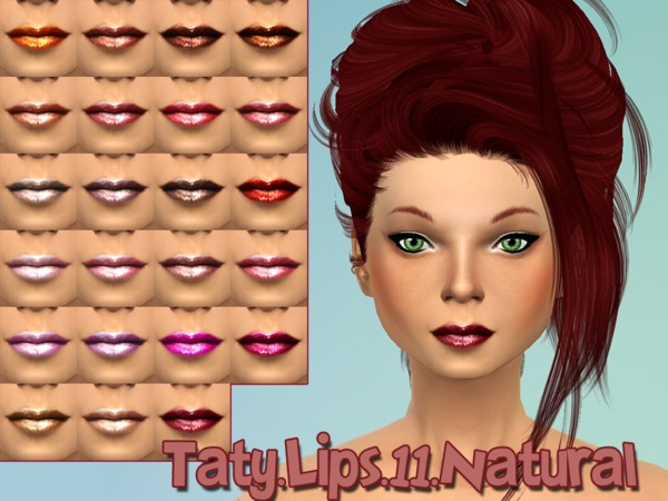 The Sims Resource: Lipstick 11 by Taty