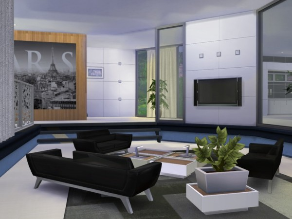 the sims resource: xena modern housechemy • sims 4 downloads