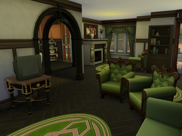 The Sims Resource: Virginia Estate residential house by Ineliz