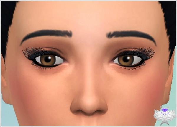 David Sims: 3D Eyelashes