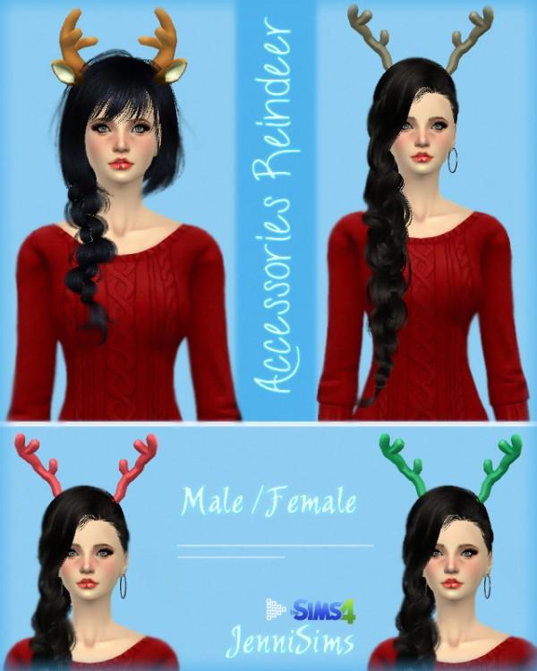 Jenni Sims: Reindeer Ears / Reindeer Horns
