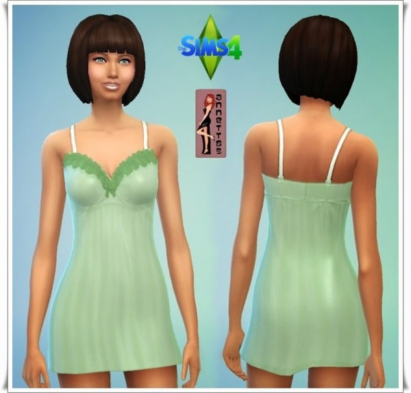 Annett`s Sims 4 Welt: Nightdress Moonlight