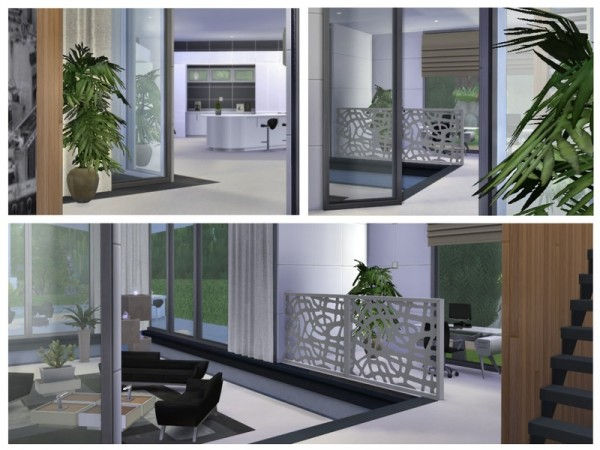 The Sims Resource: Xena Modern house by Chemy