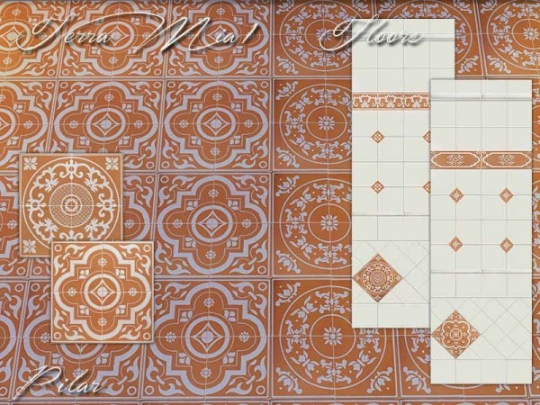 SimControl: Terra Mia 1 Wall and Floors by Pilar