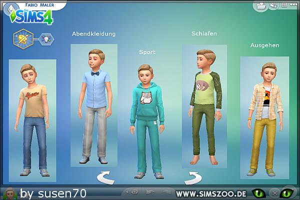 Blackys Sims 4 Zoo: Fabio maler boy sims model by susen70