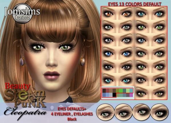 Jom Sims Creations: Cleopatra eyes