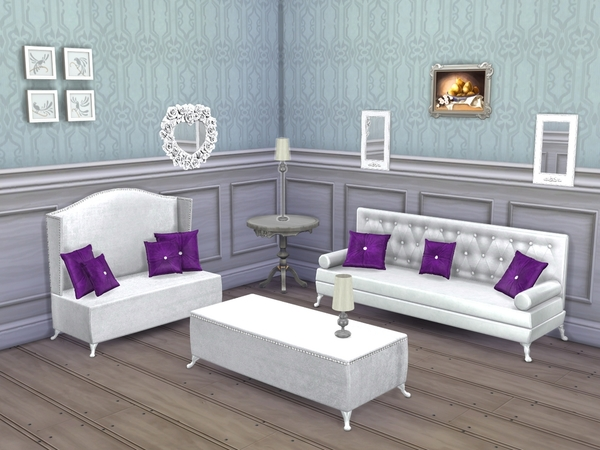 The Sims Resource: Emerald Living Room by Flovv