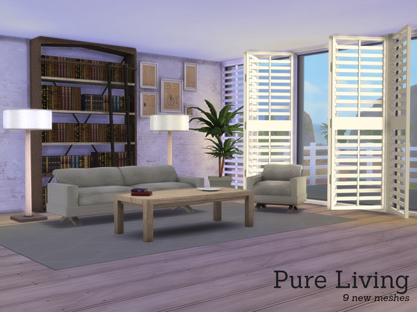 The Sims Resource: Pure Living by Angela