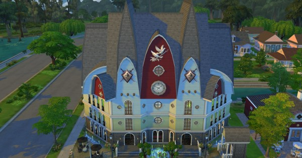 Mod The Sims: Goth Temple of Game by coolspear1