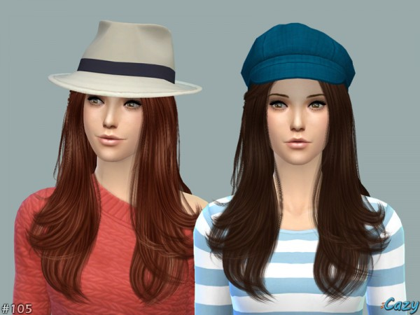 The Sims Resource: Starlight hairstyle by Cazy