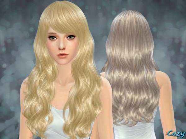 The Sims Resource: Sorrow Hairstyle by Cazy