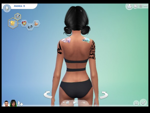 Mod The Sims: Cut out One Piece Swimsuit by brownieswife