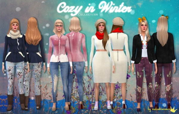 In a bad romance: Cazy in winter collection