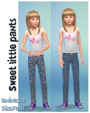 Sims Fans: Sweet  Pants by lenina 90