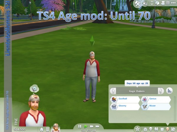 Mod The Sims: New Aging Mod: Until 70 by lientebollemeis