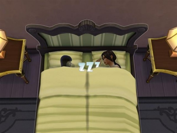 Mod The Sims: Share Beds With Everyone by Shimrod101
