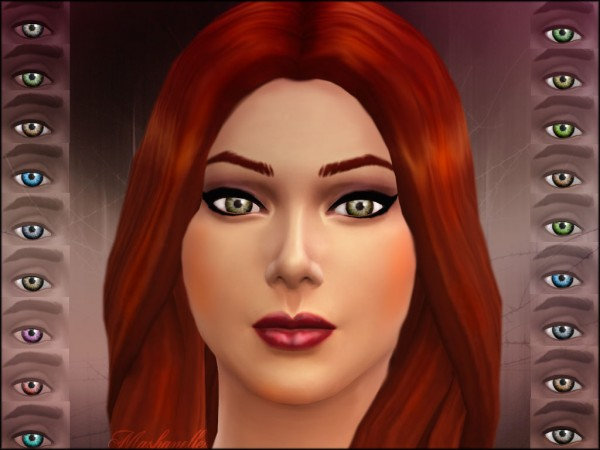 Mod The Sims: Realistic and bright eyes by malicieuse75
