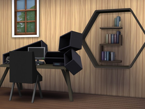 The Sims Resource: Equilibrium Office Set by Sugar Baby756