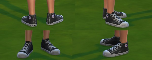 Mod The Sims: Converse All Star for men by ironleo78
