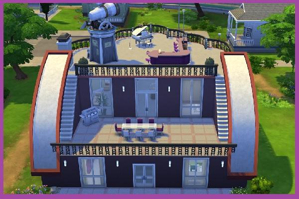Blackys Sims 4 Zoo: Fantastic Rounding residential lot by Kosmopolit