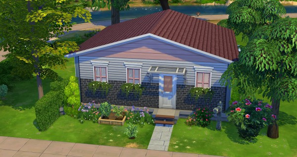 Studio Sims Creation: Rose starter house by Studio Sims Creations