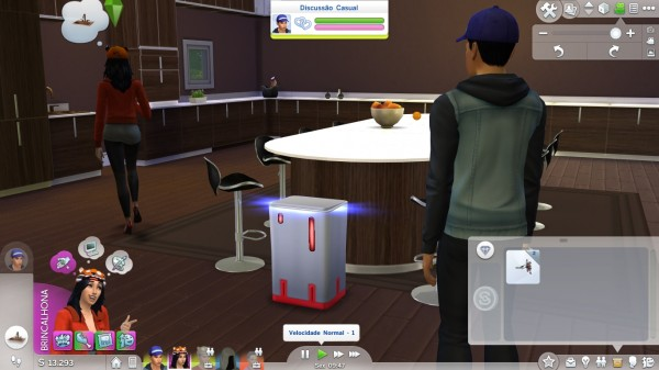 Mod The Sims: Nano Can Touchless Trash Can by jeangraff30