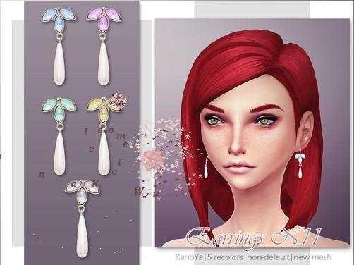 KanoYa Sims: Earrings N11